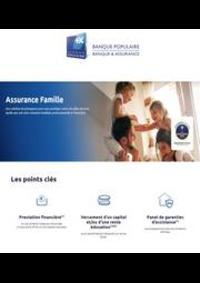 Prospectus Banque Populaire CLERMONT FERRAND 1 ave du Puy de Dôme : Assurance Famille