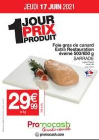 Prospectus Promocash Pontarlier : OFFRE FOIE GRAS DU JEUDI 17 JUIN 2021