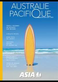 Prospectus Havas Voyages ANTONY : AUSTRALIE-PACIFIQUE