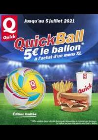 Prospectus Quick PARIS 14 rue des Petits Carreaux : Quick
