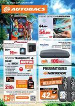 Prospectus Autobacs : Catalogue promotionnel été 2021