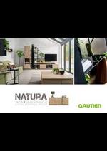 Prospectus Gautier : Natura