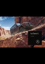 Prospectus Mercedes Benz : G Classe