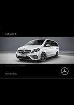 Prospectus Mercedes Benz : Classe V