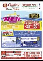 Prospectus Supermarchés Casino : Un trésor d'anniv'