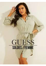 Prospectus Guess : Soldes / Femme