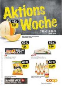 Prospectus Coop Supermarché Belp : Aktions Woche