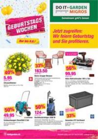 Prospectus Do it + Garden Bern - Marktgasse Fachmarkt : Do it + Garden Aktionsflyer KW30