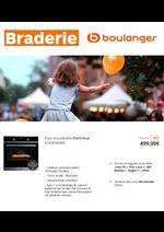 Prospectus Boulanger : Braderie