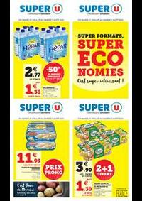 Prospectus Super U BAUME LES DAMES : SUPER FORMATS, SUPER ÉCONOMIES