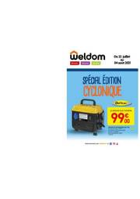 Prospectus Weldom HESINGUE : Le catalogue