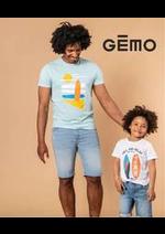 Prospectus Gemo : Nouvelle Collection pour homme
