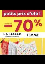 Prospectus La Halle : Petits prix Femme
