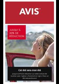 Prospectus AVIS - Pavillons sous Bois - Ville : Offres