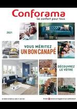 Prospectus Conforama : Guide Sièges 2021