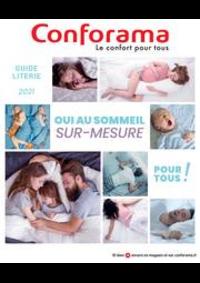 Prospectus Conforama CREIL - ST MAXIMIN : Guide Literie 2021