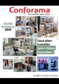 Prospectus Conforama DIJON -  QUETIGNY LES DIJON : Guide Bureaux 2021