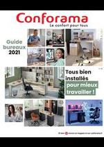 Prospectus Conforama : Guide Bureaux 2021