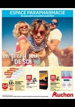 Prospectus Auchan : Cet été, on prend soin de soi