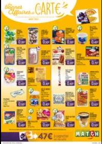 Prospectus Supermarchés Match Deûlémont : Les bonnes affaires de la carte