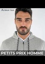Prospectus Armor Lux : PETITS PRIX HOMME