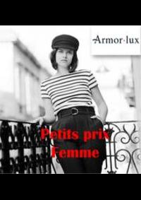 Prospectus Armor Lux PARIS 274 rue de Vaugirard : Petits prix femme