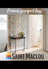 Prospectus Saint Maclou Lille Wattrelos : Promos parquet bois