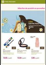 Prospectus Yves Rocher : Sélection de produits en promotion