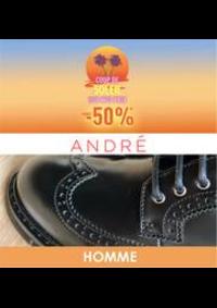 Prospectus André Wasquehal : Coup de soleil -50% HOMME