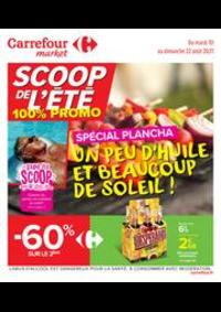 Prospectus Carrefour Market NANTERRE : Un peu d'huile et beaucoup de soleil !