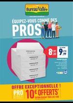 Prospectus Bureau Vallée : ÉQUIPEZ-VOUS COMME DES PROS