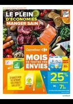 Prospectus Carrefour Drive : LE PLEIN D'ECONOMIES MANGER SAIN