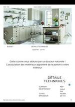 Promos et remises  : Cuisine complète et sur mesure Cambia