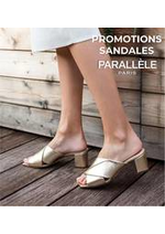 Prospectus Parallèle : PROMOTIONS SANDALES