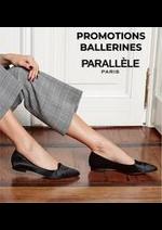 Prospectus Parallèle : PROMOTIONS BALLERINES