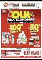 Promos et remises Supermarchés Casino : Oui aux économies