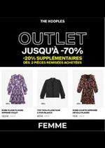 Prospectus The Kooples : OUTLET JUSQU´Á -70% FEMME