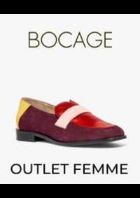 Prospectus Bocage PARIS 110 RUE DE RENNES : OUTLET FEMME