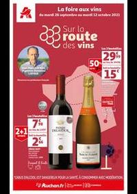 Prospectus Auchan PUTEAUX : Sur la route des vins