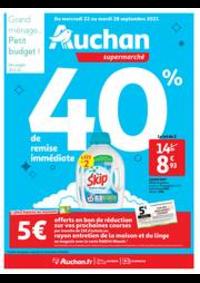 Prospectus Auchan Vélizy : Tout pour le grand ménage d'automne !