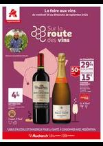 Prospectus Auchan Supermarché : Un grand choix de vins en supermarché !