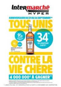 Prospectus Intermarché Express PARIS Letort : TF ANNIVERSAIRE 1