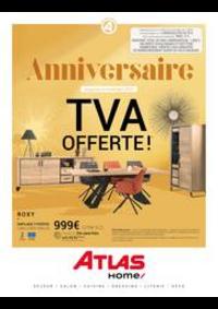 Prospectus Atlas CRETEIL : Anniversaire TVA Offerte!