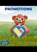 Prospectus La grande Récré : Promotions