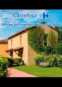 Prospectus Carrefour Voyages CHELLES : Offres anniversaire jusqu'à -60%.pdf