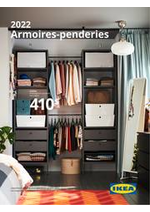 Prospectus IKEA : Armoires-penderies 2022