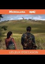 Prospectus Micromania : Micromania Les Jeux D'Occasion