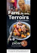 Prospectus Picard : Fans de nos terroirs