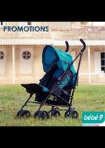 Prospectus Bébé 9 : PROMOTIONS