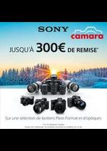 Prospectus Camara : Camara Sony Promos Hybrides